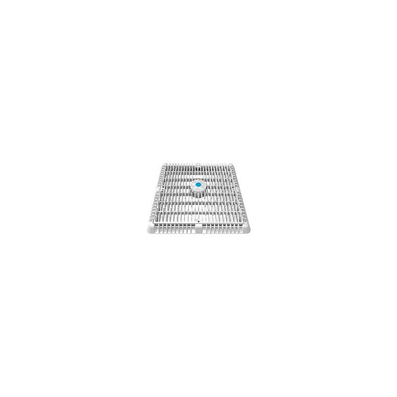 """12""""X12"""" WHITE WAVE SUCTION COVERW/ FRAME & RISER"""