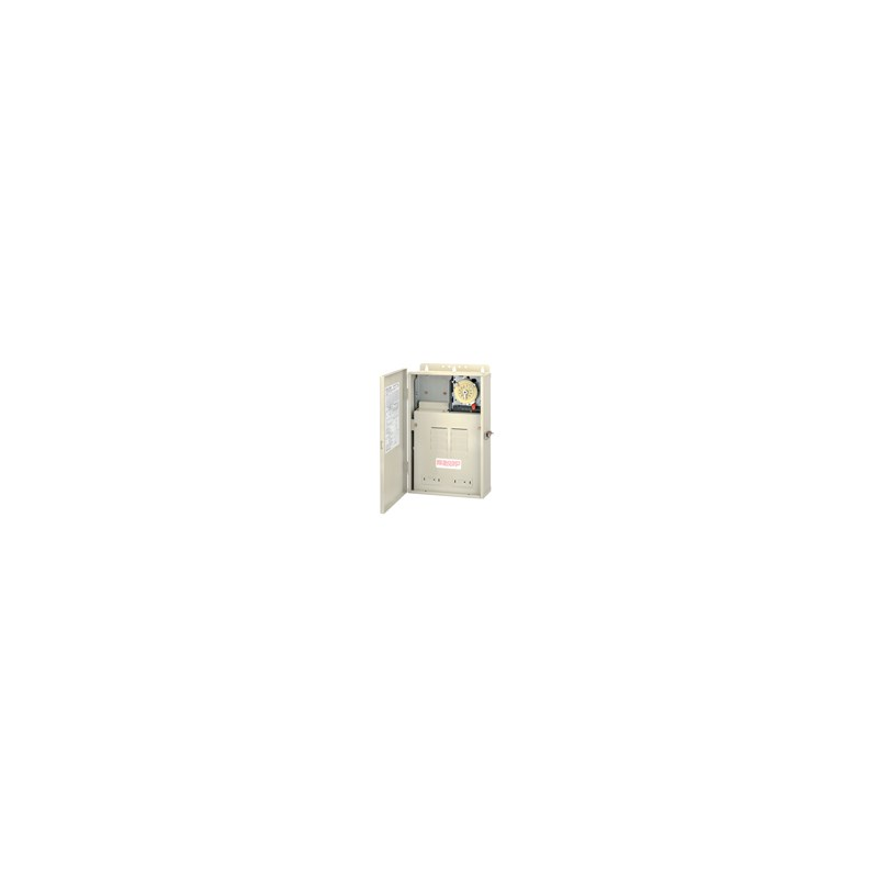 Single Time Clock in 100 Amp Outdoor Enclosure Single 240 volt 40amp Switch