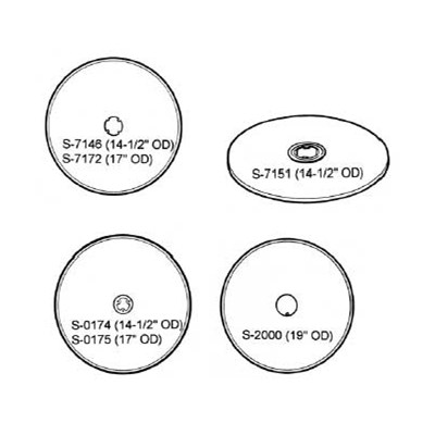 Spin Filter Disc Grids