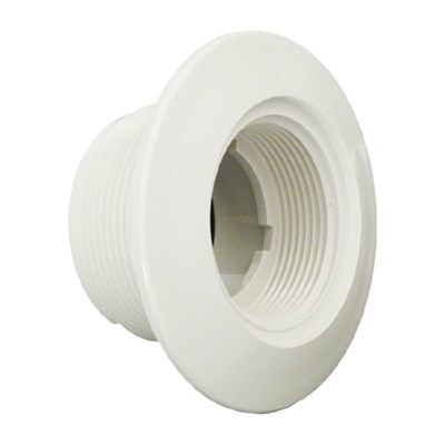 "1-1/2"" FPT x 1-1/2""S Wall Fitting, White"