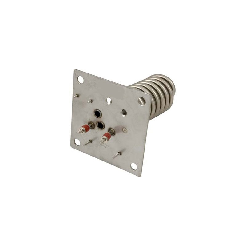 """Heater Element with Plate 5"""" x 5"""", 5.5 KW/240V - 1.5 KW/120V"""