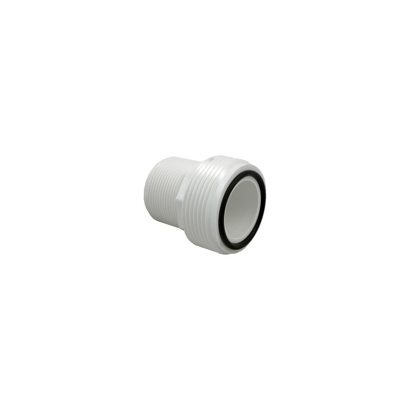 """1-1/2"""" Heater Union Tailpiece - MPT Threaded Connection Includes O-Ring"""