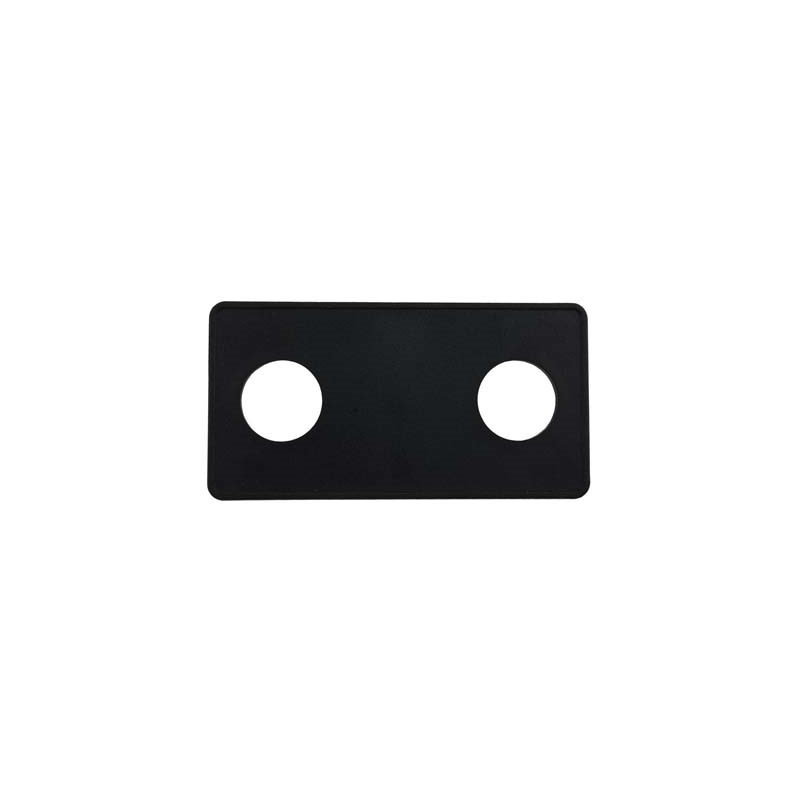 "#15 Button Panel Deckplate, 2 Button 1-3/8"" Hole Size"