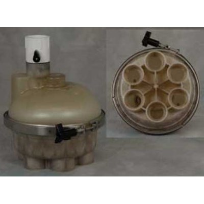 """1.5"""" 6-Port Top Feed T-Valve"""