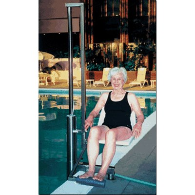 In-Ground Pool Lift - ADA Compliant 180^ Seat Rotation