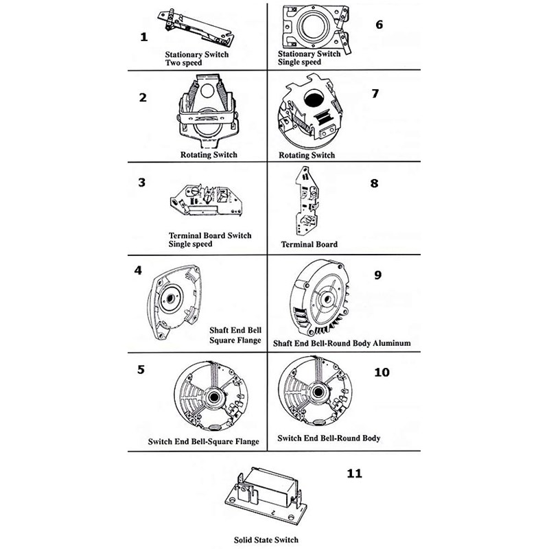 Franklin Electric - Motor Parts