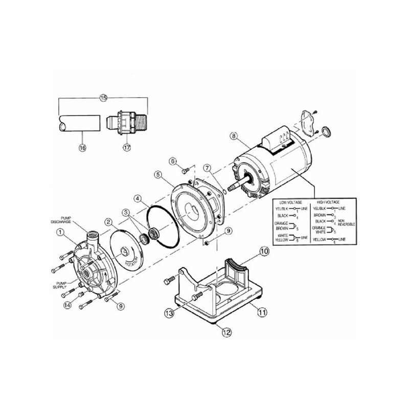 Booster Pump (North America) (S933): Polaris Pool Systems