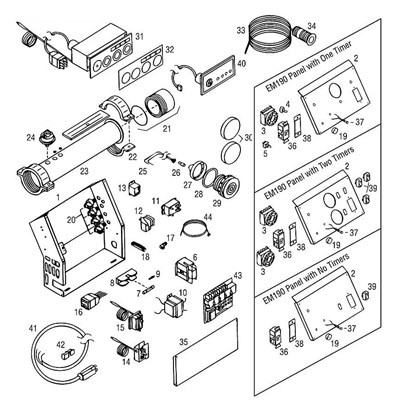 Toggle Switch, Main Power, DPST (49528): Toggle Switches